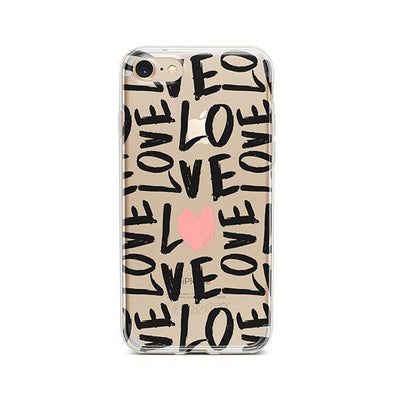 Spread The Love - iPhone Clear Case
