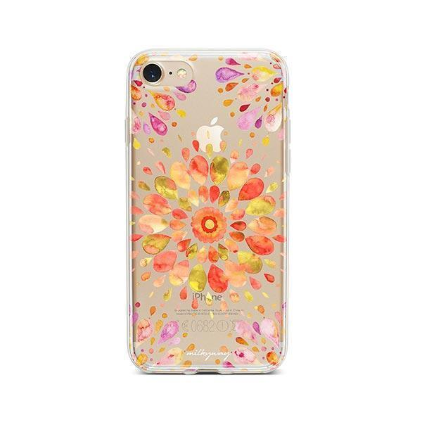 Summer Mandala iPhone 7 Case Clear