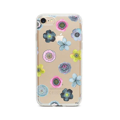 Sylvan Succulent - Clear TPU - iPhone Case