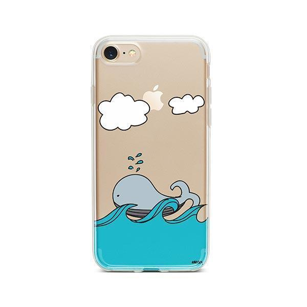 The Whale Case - iPhone 7 Case Clear