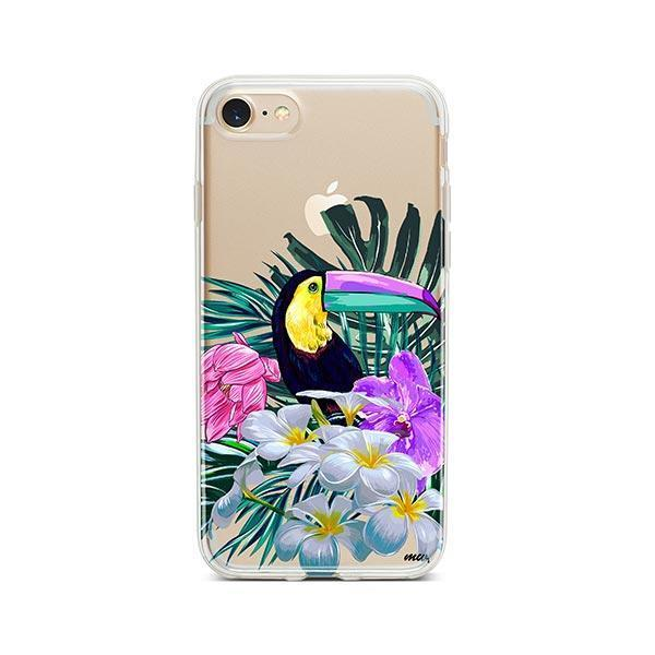 Toucan - iPhone 7 Case Clear