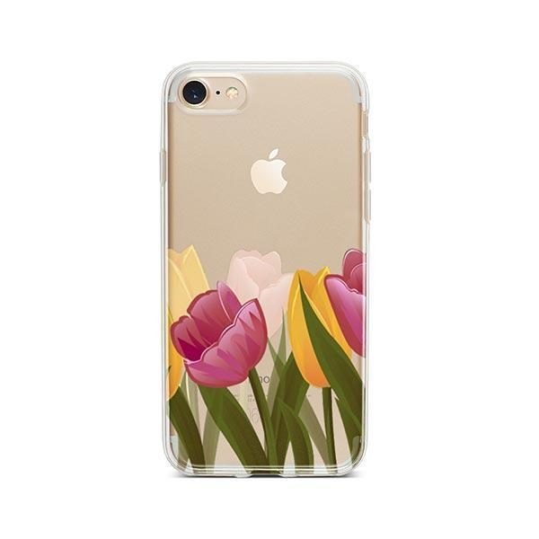 Tulips iPhone 8 Case Clear