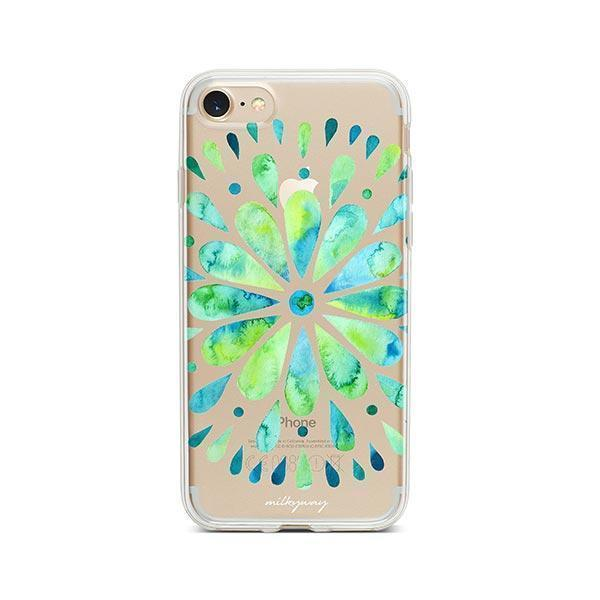Watercolor Mandala iPhone 7 Case Clear
