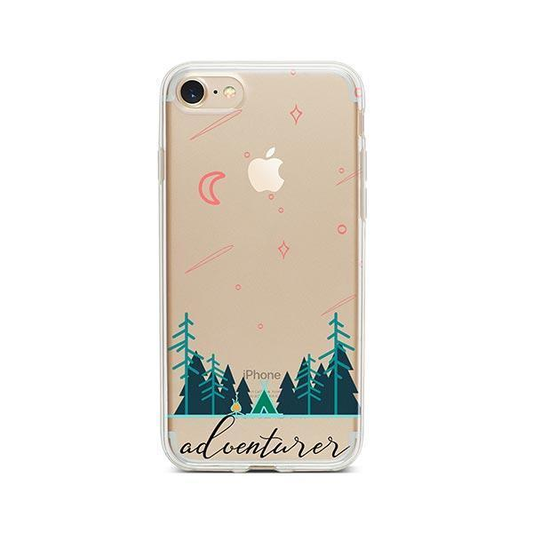 Adventurer iPhone 8 Case Clear