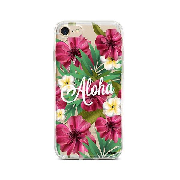 Aloha 2.0 iPhone 8 Case Clear