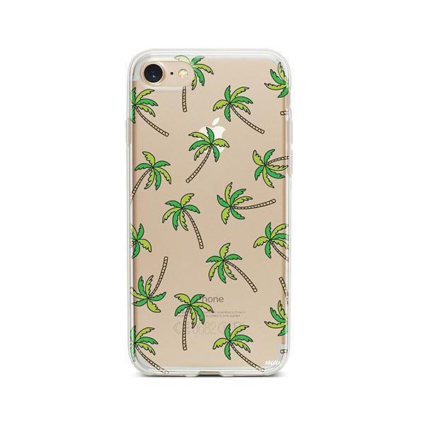 Aloha Trees iPhone 8 Case Clear