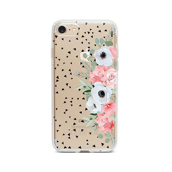 Anemone Rose iPhone 8 Case Clear