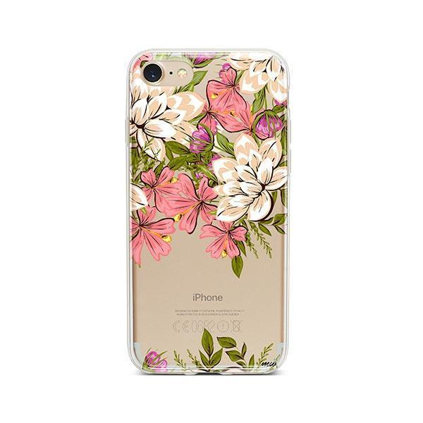 Angela Floral iPhone 8 Case Clear