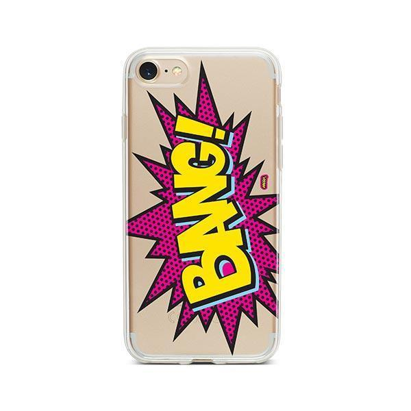 Bang! iPhone 8 Case Clear
