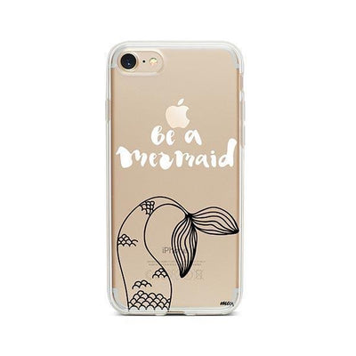 Be a Mermaid - iPhone Clear Case