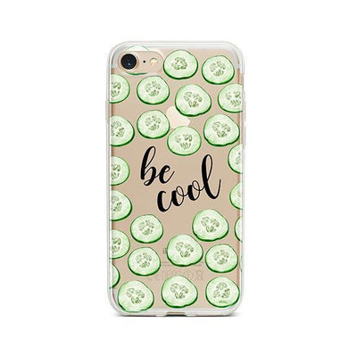 Be Cool - iPhone Clear Case