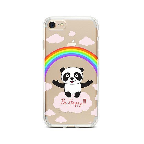 Be Happy iPhone 8 Case Clear