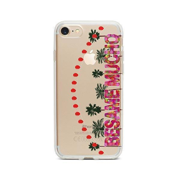 Besame Mucho iPhone 7 Case Clear