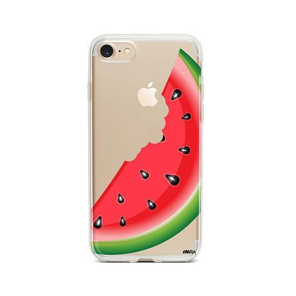Bite My Watermelon iPhone 8 Case Clear