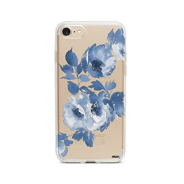 Blue Crush iPhone 8 Case Clear