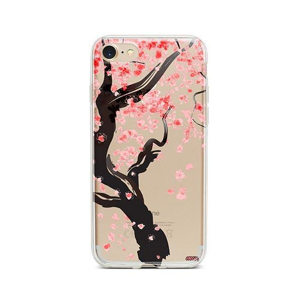 Cherry Blossom Tree iPhone 8 Case Clear