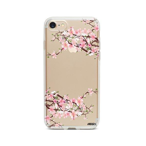 Cherry Blossom iPhone 8 Case Clear