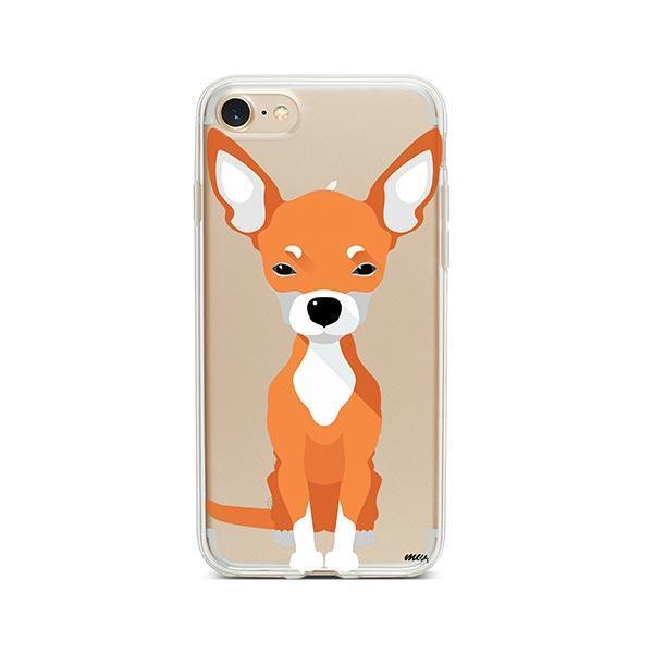 Chihuahua - iPhone 8 Clear Case