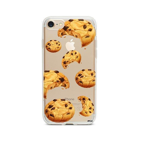 Chocolate Covered Strawberry iPhone 8 Case Clear