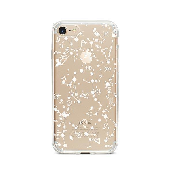 Constellation iPhone 8 Case Clear