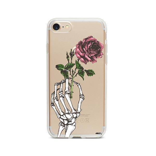 Crane Rose iPhone 7 Case Clear