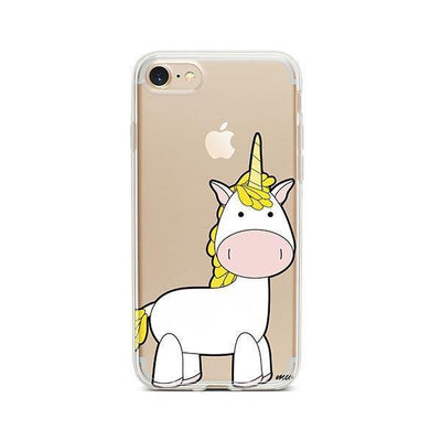 Cute Unicorn - iPhone Clear Case