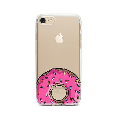 D'ohnuts - iPhone Clear Case
