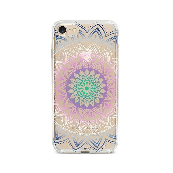 Dark Pastel iPhone 7 Case Clear