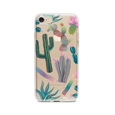 Desert Night - Clear TPU - iPhone Case