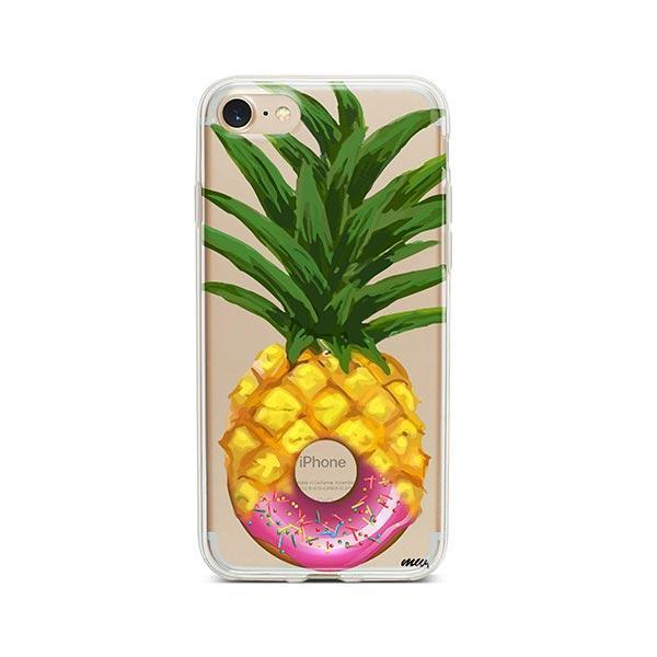 Donut Pineapple iPhone 8 Case Clear