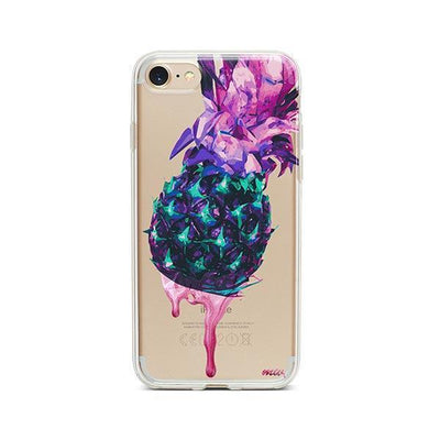 Dripping Pineapple - iPhone Clear Case