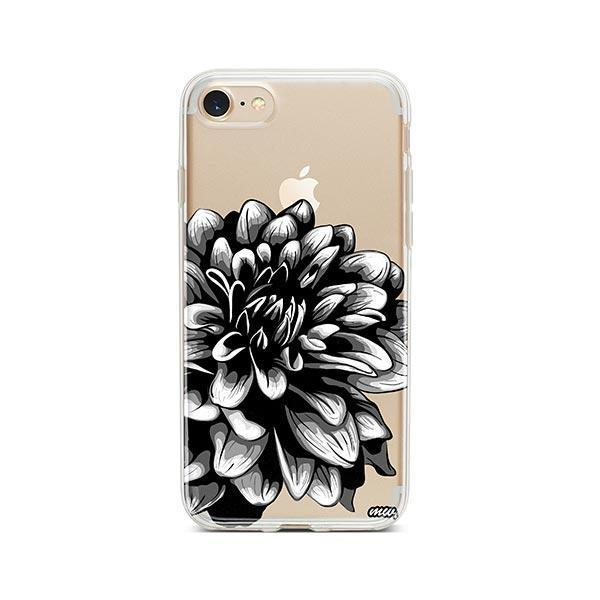 The Black Dahlia iPhone 7 Case Clear