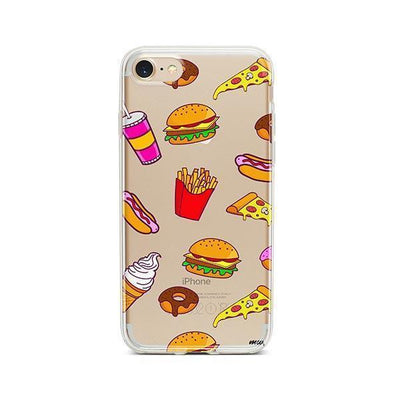 Fast Food - iPhone Clear Case
