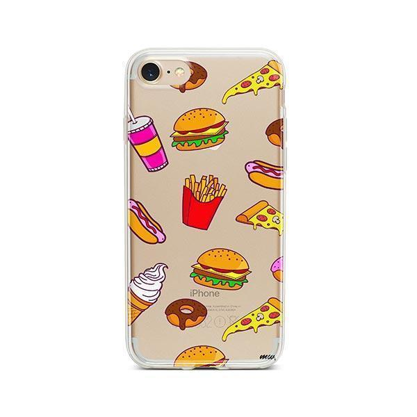 Fast Food iPhone 8 Case Clear
