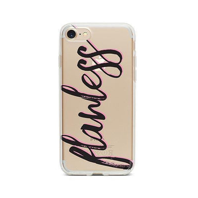 Flawless - iPhone Clear Case
