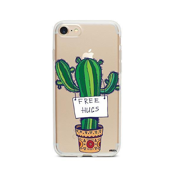 Free Hugs iPhone 7 Case Clear