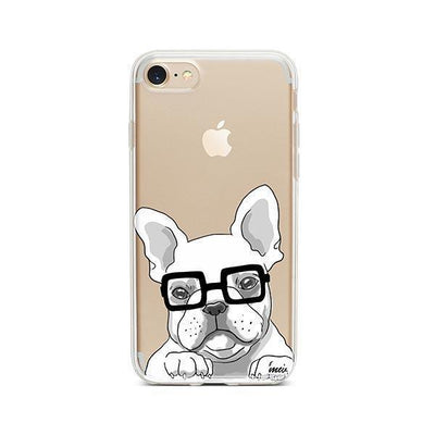 The Frenchie - Clear TPU - iPhone Case