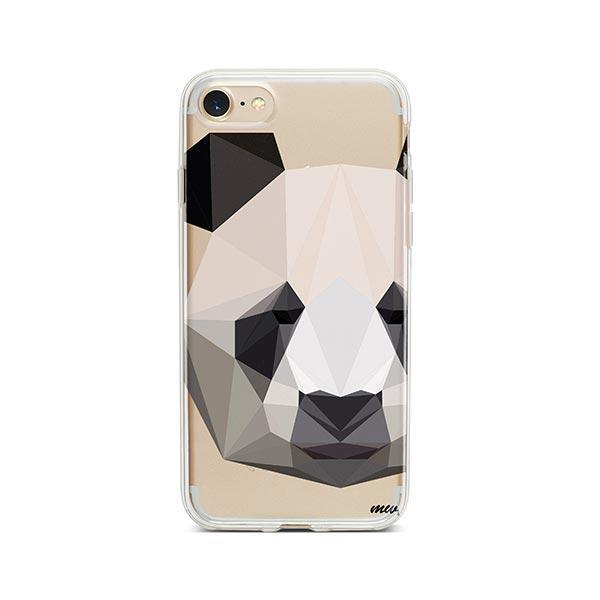 Geo Panda - iPhone 7 Case Clear