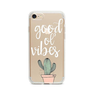 Good Ol Vibes - iPhone Clear Case