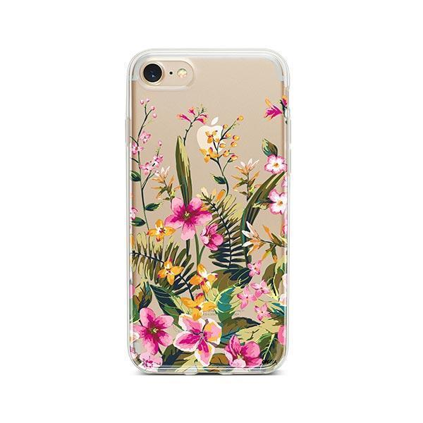 Growing Garden iPhone 8 Case Clear