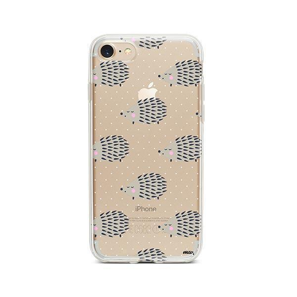 Hedgehog - iPhone 7 Case Clear
