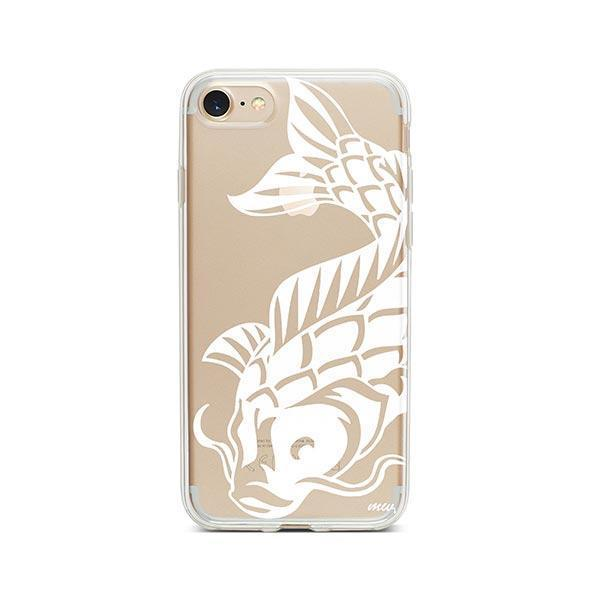 Henna Koi Fish - iPhone 7 Case Clear