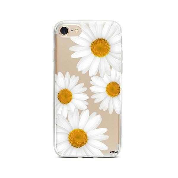 It's Daisies iPhone 8 Case Clear