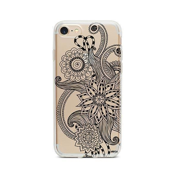 Mehndi Henna iPhone 7 Case Clear