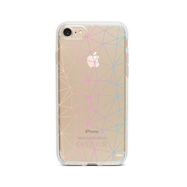 Ombre Geo iPhone 7 Case Clear