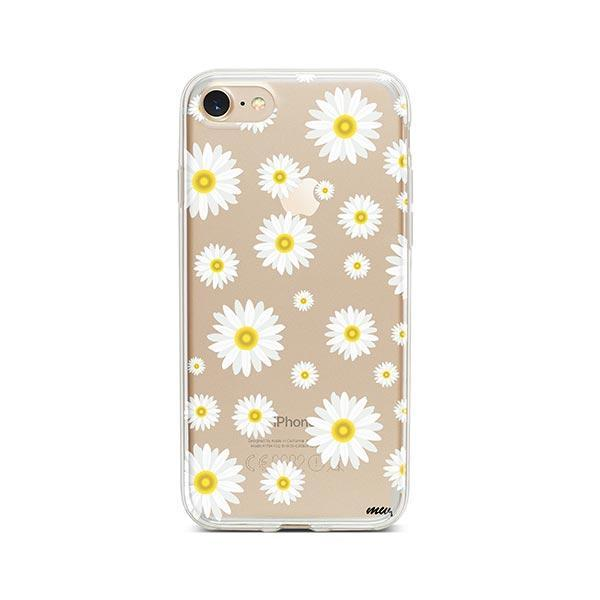 Oopsie Daisy iPhone 8 Case Clear