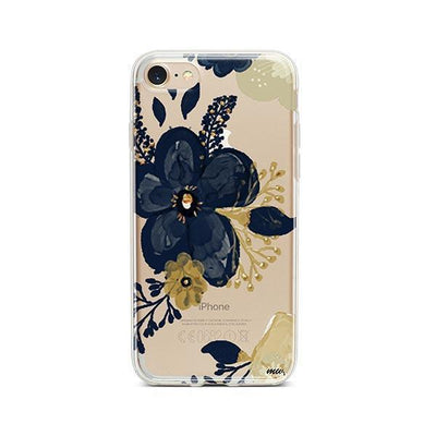 Oprah Floral - iPhone Clear Case