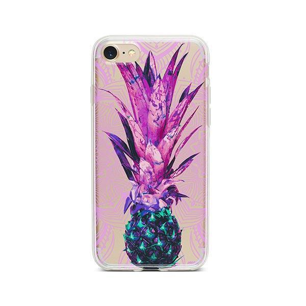 Pineapple Mandala iPhone 7 Case Clear