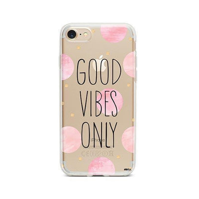 Good Vibes Only - iPhone Clear Case