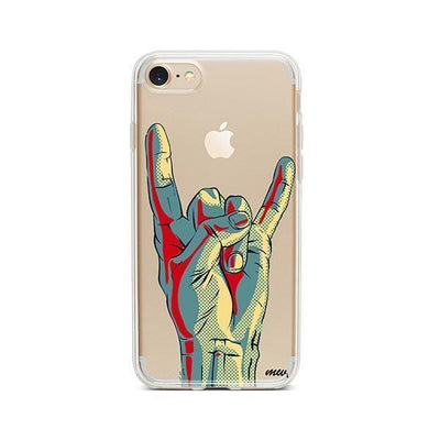 Rock On - iPhone Clear Case